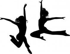 Girls jumping http://brigittebanter.files.wordpress.com/2012/07/jumping-silhouette-friends22-by-sattva.jpg