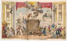 FOR DESCRIPTION SEE GEORGE (BMSat). 1 December 1812.  Hand-coloured etching.