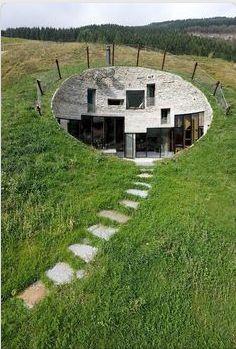 Underground home. http://www.CorneliusCamp.com