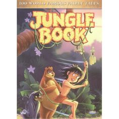 VCD Jungle Book - 100 World Famous Fairy Tales - Video Unggul