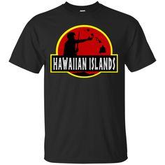 Hawaiian Islands Custom Ultra Cotton T-Shirt