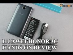 "HUAWEI Honor 3C Hands On - 5"" QuadCore Smartphone"