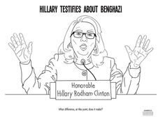 There is now an anti-Hillary Clinton coloring book. And, yes, there is a Benghazi page.