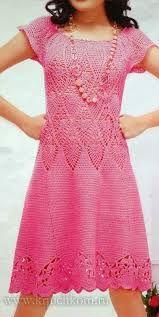 Pink Sweater Dress, Knit Dress, Crochet Shell Stitch, Crochet Clothes, Crochet Dresses, Short Sleeve Dresses, Knitting, Skirts, Sweaters