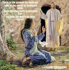 Jesus has risen!