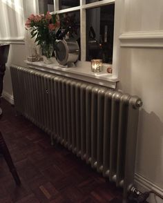 Ribble Radiators Suzie on Instagram: Pretty Narrow school cast iron radiator installed in our...