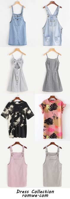 Cute Dresses Collection with Soft Material and Special Design from romwe.com