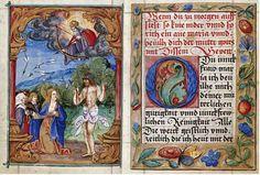 16th century illuminated books | prayerbook illuminated 1520 art print by nicolaus glockendon