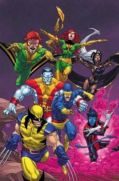 X-Men by Roger Cruz