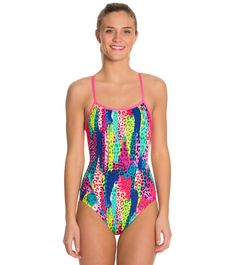 92cac9fa808 Funkita Feline Fever Single Strap One Piece Swimsuit at SwimOutlet.com -  Free Shipping