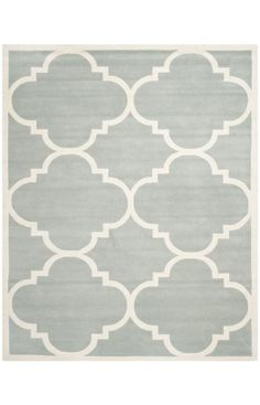 Safavieh Chatham CHT730B Grey Ivory Rug | Contemporary Rugs