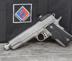 Fusion Firearms is the world's premier 1911 pistol manufacturer. We serve everything 1911 from unique custom made firearms to top-quality production pistols. We are a full blown custom shop and 1911 parts supplier. 1911 Parts, Custom 1911, M1911, 1911 Pistol, 38 Super, Pistols, Chrome Finish, Firearms, Hand Guns
