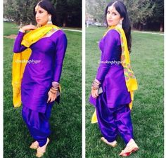 Phulkari suit Phulkari Suit, Patiala, Punjabi Suits, Indian Wear, Sari, Clothes For Women, How To Wear, Outfits, Clothing