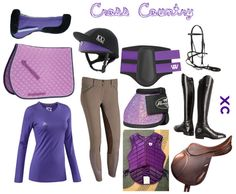 Purple Cross-Country by forest-fashion on Polyvore