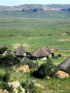 Basotho Cultural village accommodation
