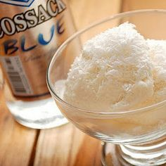 Vodka ice cream