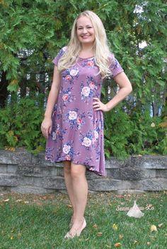 The Marjorie Swing Dress - How to Shorten a Swing Dress