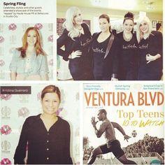 PRetty by Haute House PR featured in Ventura Blvd. Stylists, Teen, Magazine, Studio, Celebrities, Pretty, House, Design, Celebs