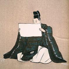 man reading - Kōgyo Tsukioka (1869-1927)