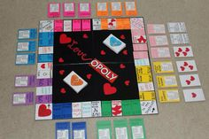 DIY board game gift for bae Birthday Gifts For Girlfriend, Diy Gifts For Boyfriend, Gifts For Your Girlfriend, Animation Soiree, Theme Animation, Homemade Board Games, Diy Anniversary Gifts For Him, Gag Gifts, Valentines Diy