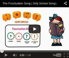 Mommy the Teacher: The Punctuation Song!