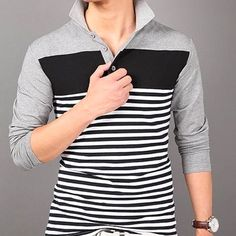 Fitabouts from Delhi - Buy Polos & Tees, Kurtas, Unstitched Dress Material Online on MyShopPrime Jeans Frock, Jeans Dress, Casual Jeans, Casual Shirts, Waistcoat Men, Ethnic Gown, Polo Tees, Earrings Online, Shirts Online