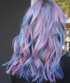 Summer Hairstyles : Bubblegum Fantasy Metallic Hair Shades With Just the Right Amount of Edge For Cute Hair Colors, Pretty Hair Color, Hair Color Purple, Hair Dye Colors, Pink Purple, Summer Hairstyles, Pretty Hairstyles, Halloween Hairstyles, Hairstyle Short
