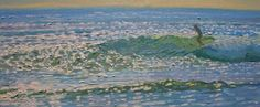 Artist, Kevin Short. My favorite surf spot as a kid - Middles.