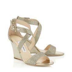 17851ddd376 Jimmy Choo Champagne Heels