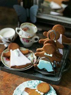 gingerbread cookies...
