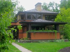 Frank Lloyd Wright's Avery Coonley Estate in Riverside, Illinois.