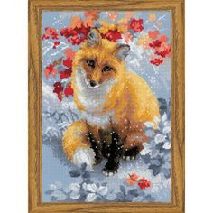 RIOLIS® Curious Fox Counted Cross-Stitch Kit