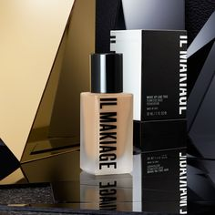 Il Makiage Woke Up Like This Foundation Shade Find Your Foundation Shade, Too Faced Foundation, Perfect Foundation, Foundation Brush, Aluminium Hydroxide, Makeup Counter, Find Your Match, Minimize Pores, Makeup