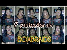7 Penteados fáceis e bonitos para Box braids | Charmosas Ideias Blog