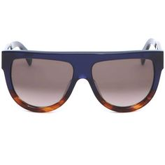 Shadow Sunglasses ($290) ❤ liked on Polyvore featuring accessories, eyewear, sunglasses, celine sunglasses, brown sunglasses, celine aviators, brown glasses and acetate aviator sunglasses