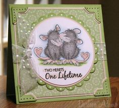 LSC158~Anniversary Mice by darleenstamps - Cards and Paper Crafts at Splitcoaststampers
