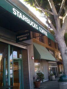 Starbucks Coffee in Larchmont Village, Los Angeles