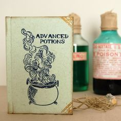 Advanced Potions (Half-Blood Prince) notebook from celestefritta. Maybe if my Ochem book said this i'd like it better...
