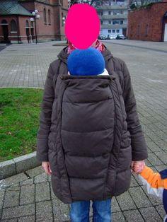 Tragejacke nähen Pregnancy, Maternity, Winter Jackets, Sewing, Quilt, Tutorials, Journal, Clothes, Patterns