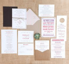 Rustic Wedding Paper by Southern Fried Paper