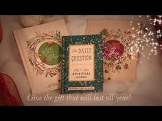 Book Trailer: GIFT BOOKS by Waterbrook - YouTube