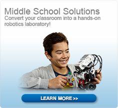 Convert your classroom into hands-on LEGO robotics laboratory!