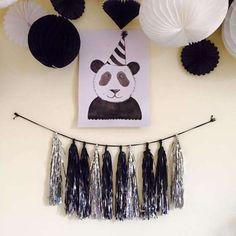panda-party tassels