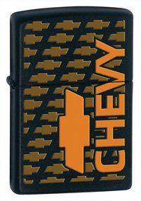 Zippo Chevy Bowtie Lighter Modern Design by Zippo. $20.83. Chevy Bowtie Zippo.. Chevy Bowtie Zippo.. Save 39%!