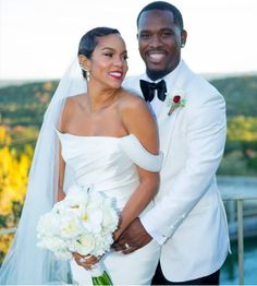 Checkout Lovely Photos From Letoya Lucketts Wedding To Tommicus Walker