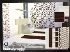 Aceria Tile Set by nicol600 at TSR via Sims 4 Updates