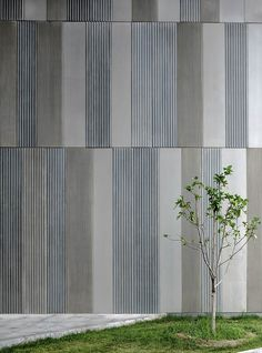 Gallery of Aimer Fashion Factory / Crossboundaries - 12 Aimer Fashion Factory / Crossboundaries Architects Precast Concrete Panels, Concrete Facade, Concrete Architecture, Concrete Texture, Industrial Architecture, Concrete Wall, Wood Texture, Metal Cladding, Wall Cladding