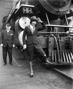 culotte suit | Anna May Wong, circa 1928