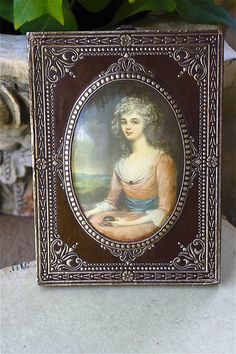...charming french miniature print...