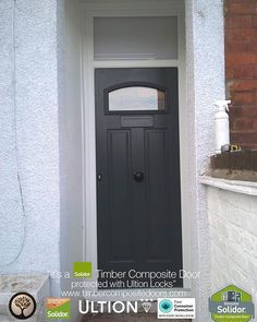 French Grey London Solidor Timber Composite Door | Solidor - French ...